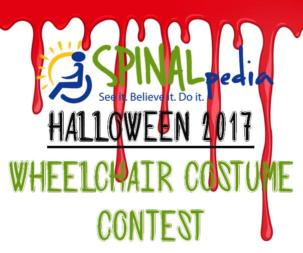 SPINALpedia 2017 Halloween Wheelchair Costume Contest