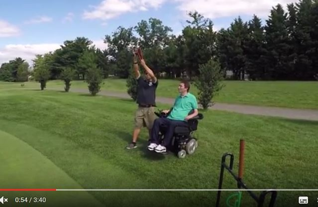 Determined2heal Founder Creates Slingshot Golf