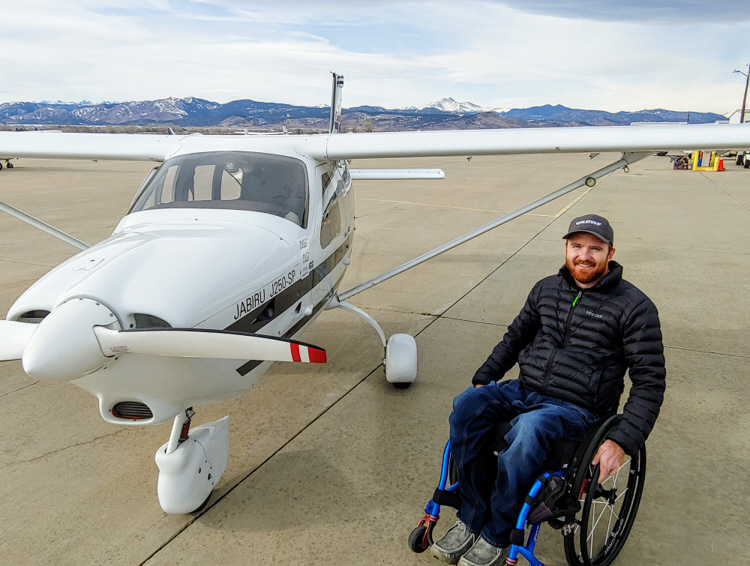 Guest Post: Injured Pilot Jay Davis Reflects on Change