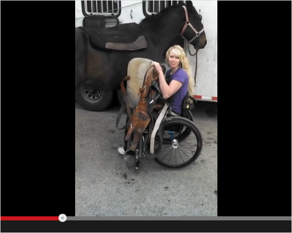 How It's Done: Horseback Riding with a Spinal Cord Injury
