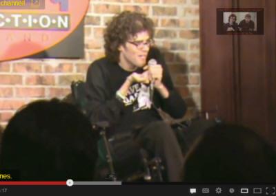 Wheel-y funny wheelchair comedy!