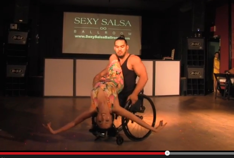 Fire Dance: Best of Wheelchair Salsa
