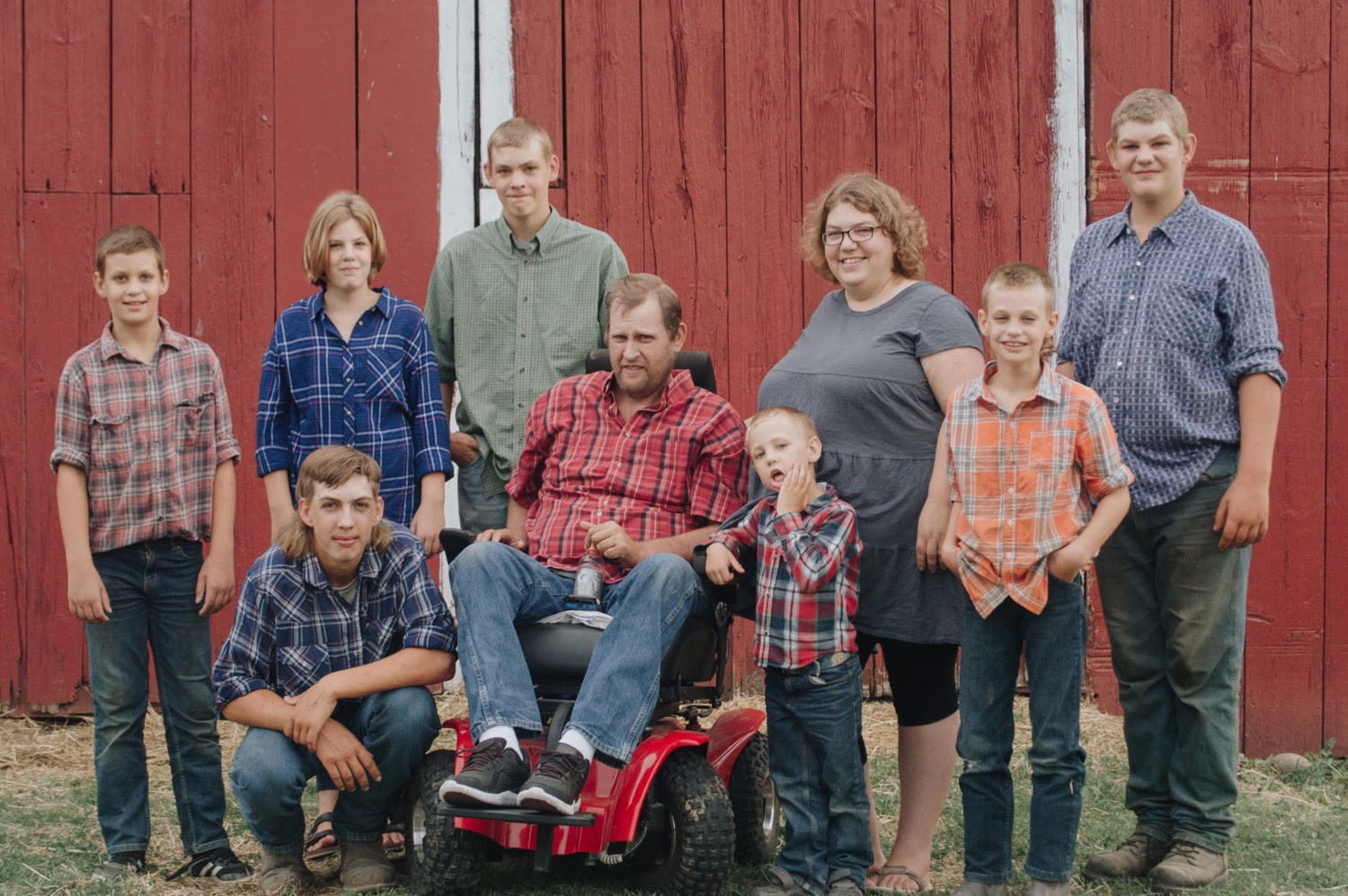 Guest Post: An Injured Farmer & The Strength of Family by Sara Boverhof