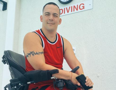Arnedo Carbo: The Happy Quadriplegic